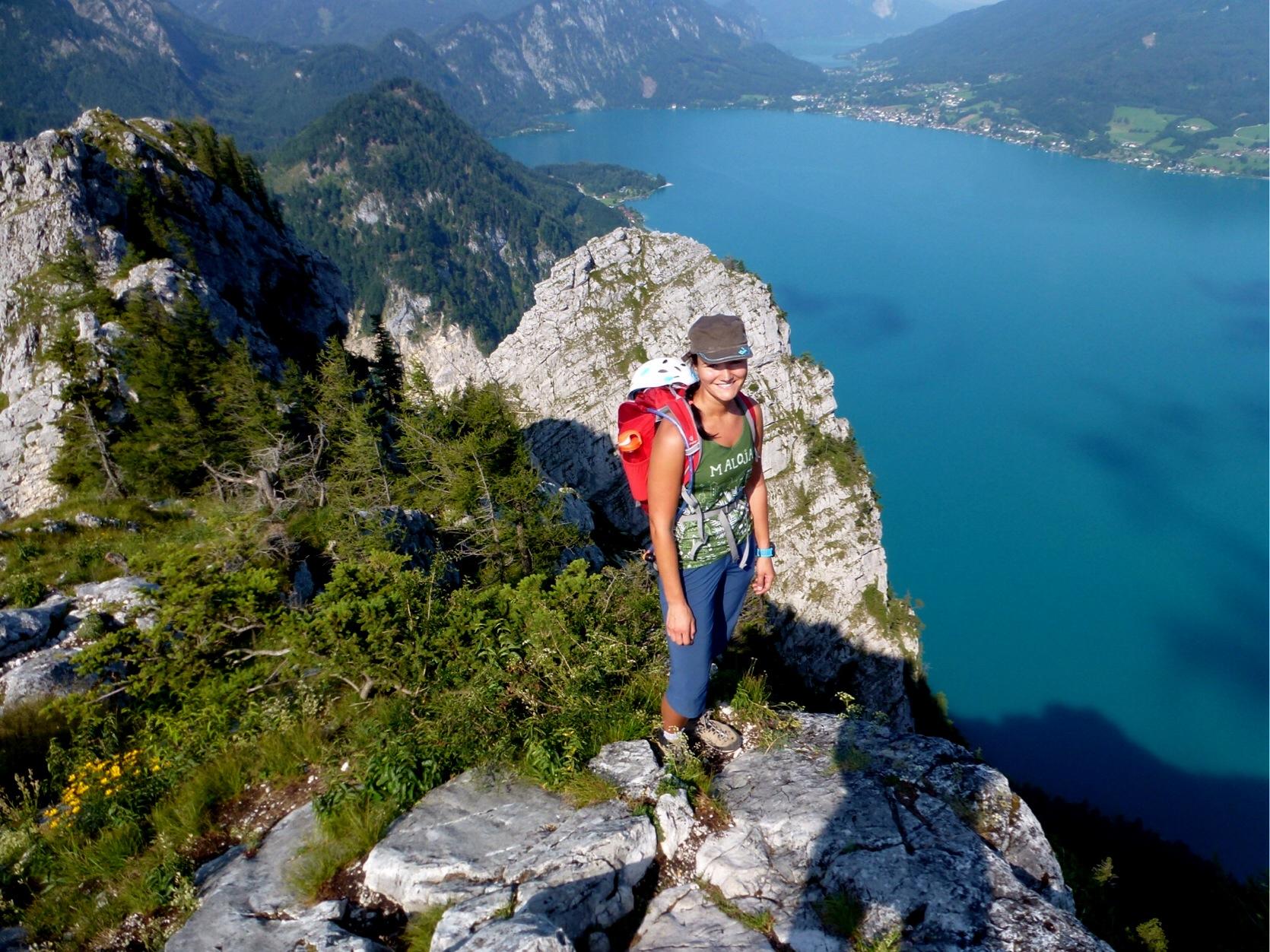 Klettersteig Mahdlgupf : Klettersteige mit fantastischem bergpanorama und seenblick
